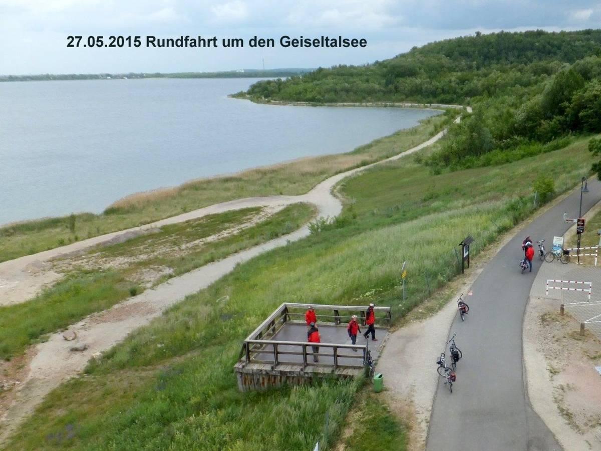 geiseltalsee rundfahrt fahrrad